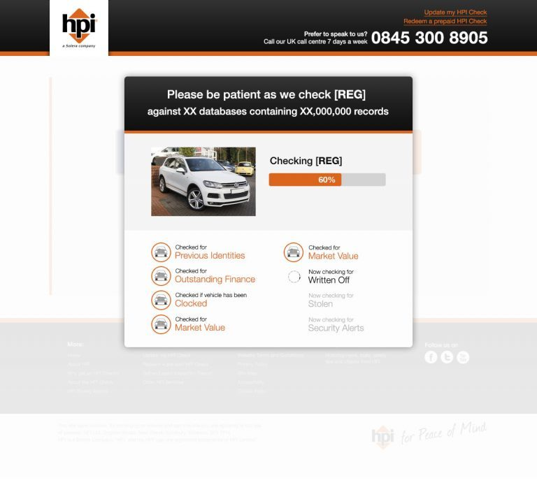 Our Services for HPI Check