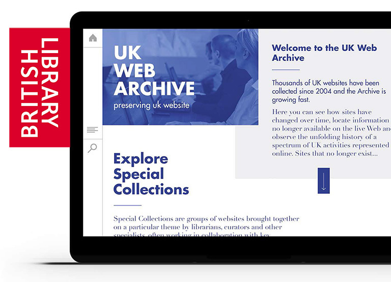 web archive proposed new design