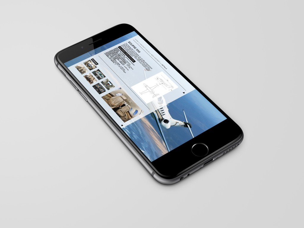Amazing Responsive Design by London Big Idea Agency MARS SPIDERS - airline web design experts