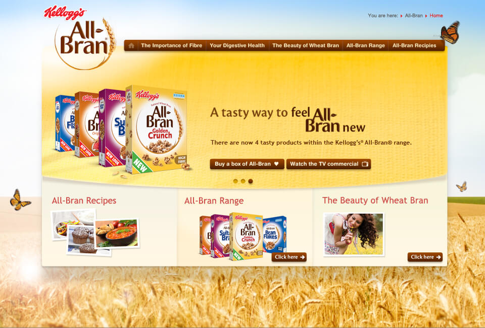 Mars Spiders Digital Agency London - Kelloggs all-bran-large