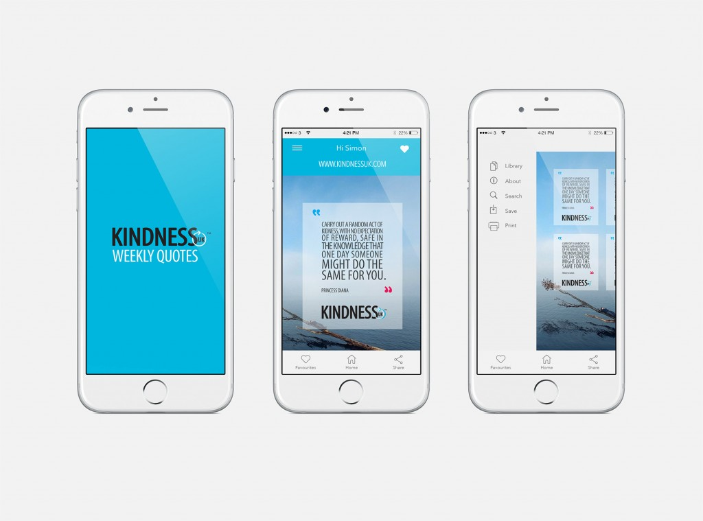 Mars Spiders Digital Agency London - web-kindness-uk-native-ios-app-lk-case-studies-screen1