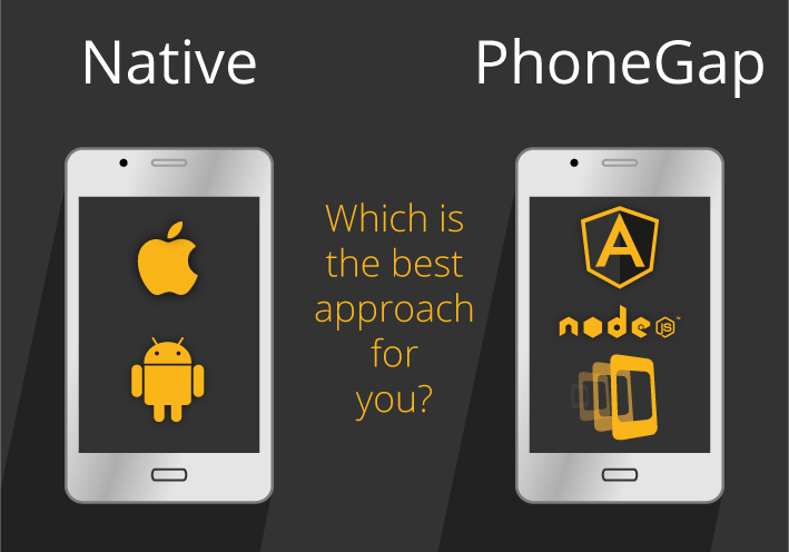 Native or PhoneGap - customer choice